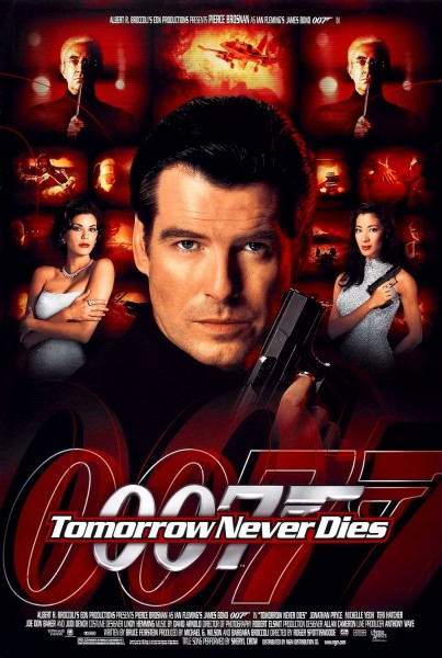 Tomorrow Never Dies movie font