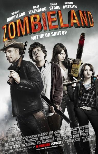 Zombieland movie font
