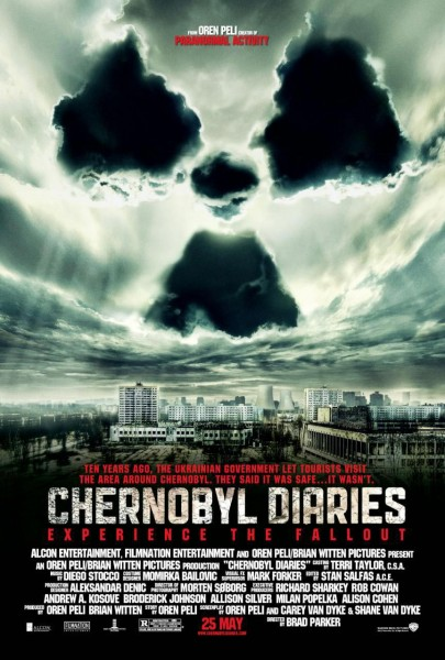 Chernobyl Diaries movie font