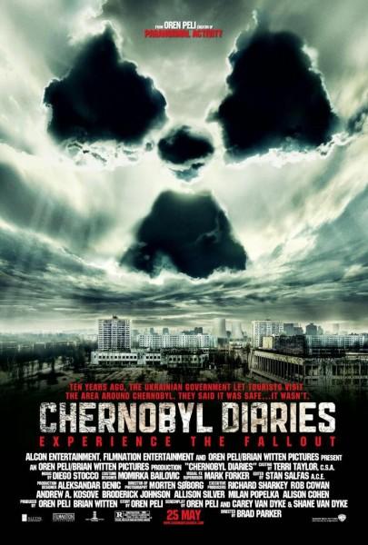 Chernobyl Diaries movie font