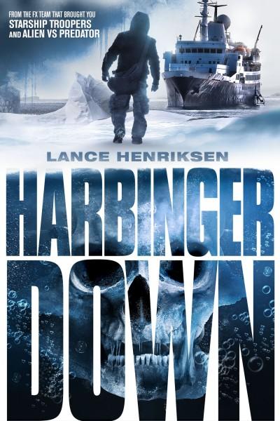 Harbinger Down movie font