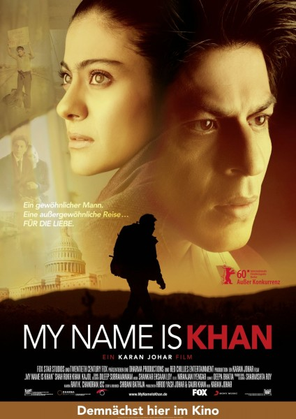My Name Is Khan movie font