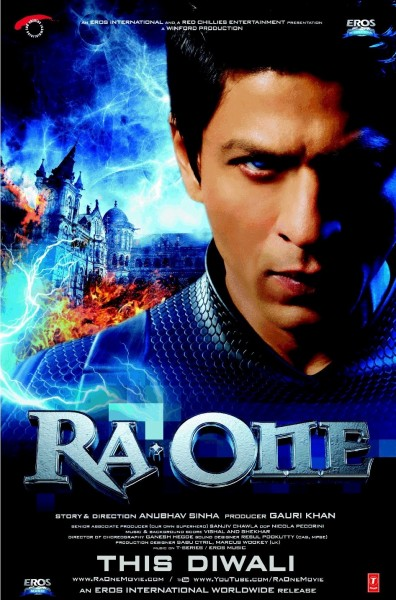 Ra.One movie font