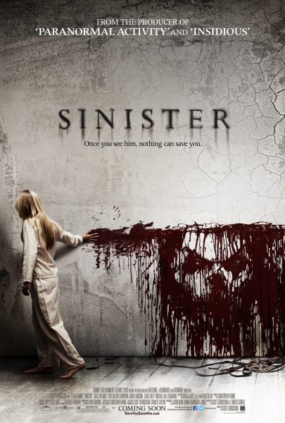 Sinister movie font