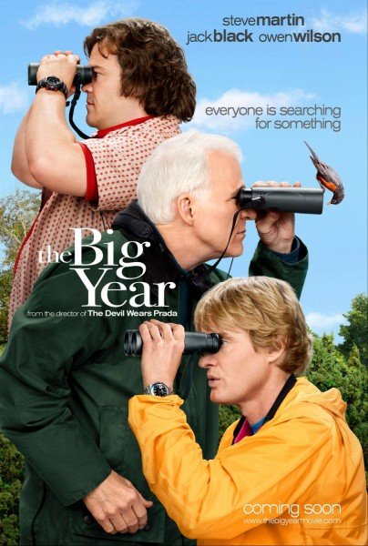 The Big Year movie font