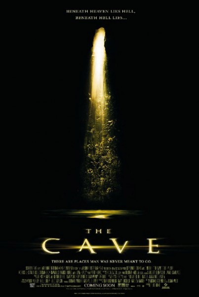 The Cave movie font