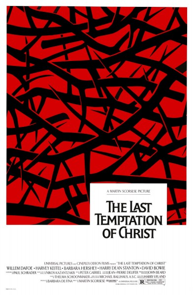 The Last Temptation of Christ movie font