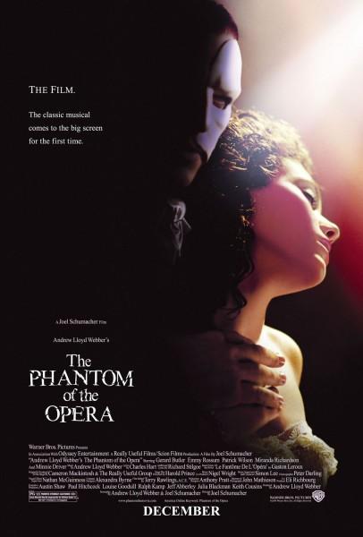 The Phantom of the Opera movie font