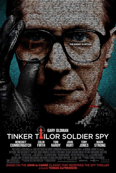 Tinker Tailor Soldier Spy movie font