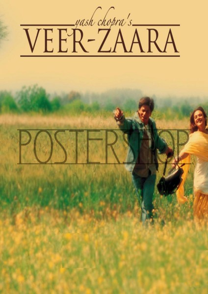 Veer-Zaara movie font