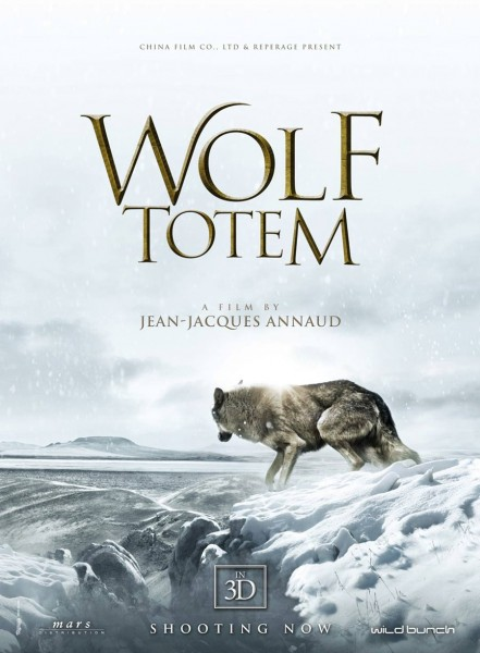 Wolf Totem movie font