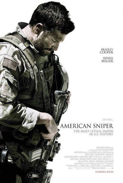 American Sniper movie font