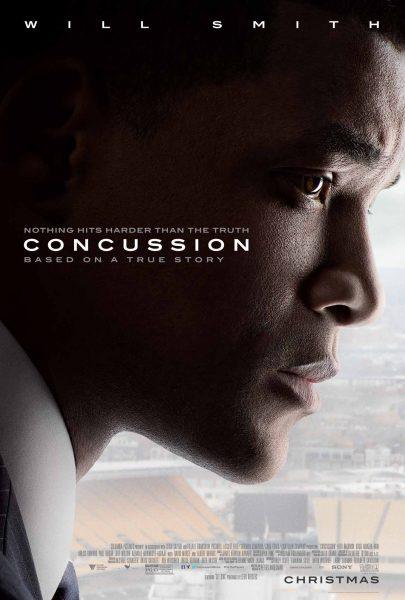 Concussion movie font