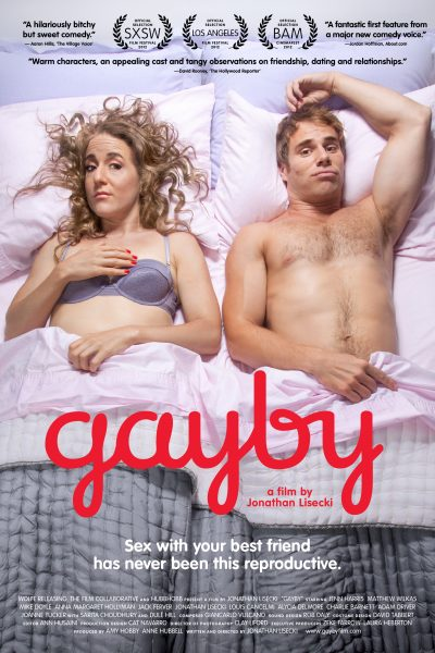 Gayby movie font