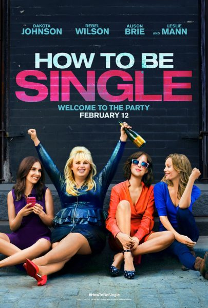 How to Be Single movie font