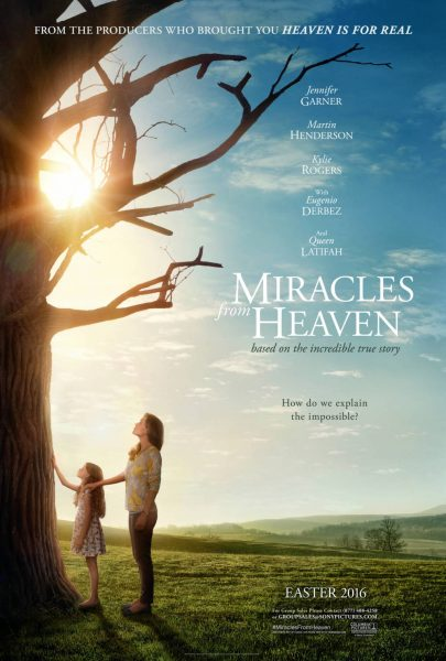 Miracles from Heaven movie font
