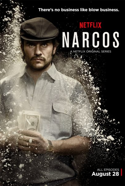 Narcos movie font