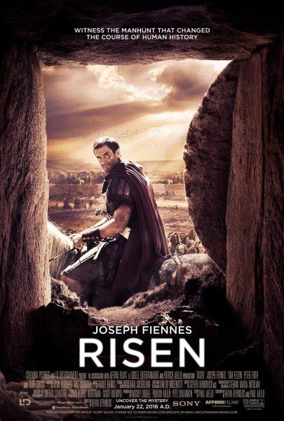 Risen movie font