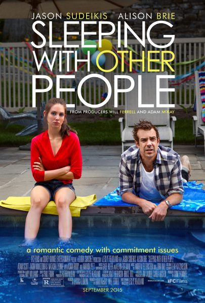 Sleeping with Other People movie font
