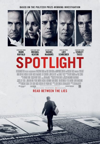 Spotlight movie font