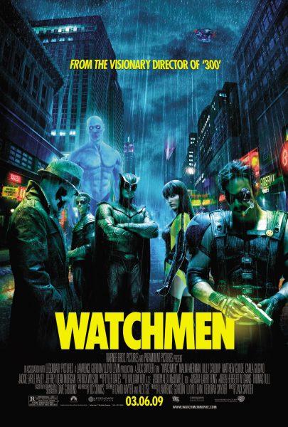 Watchmen movie font