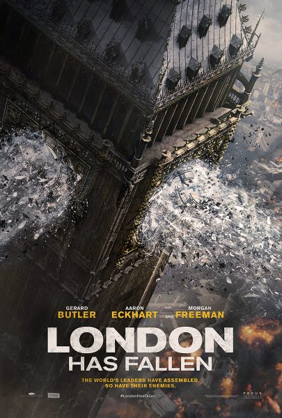 London Has Fallen movie font