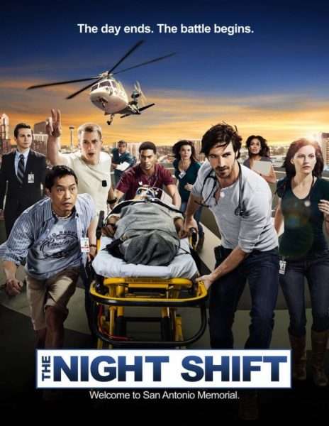 The Night Shift movie font