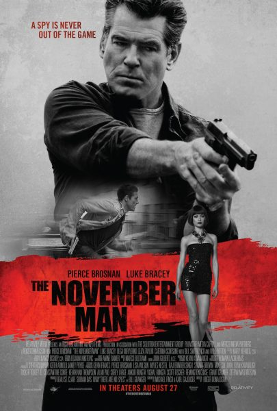 The November Man movie font