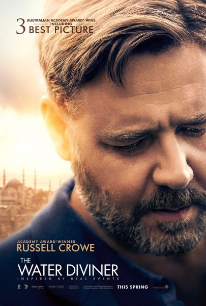 The Water Diviner movie font