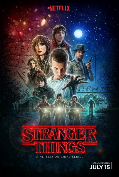 Stranger Things movie font