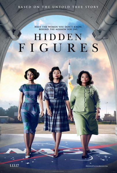 Hidden Figures movie font