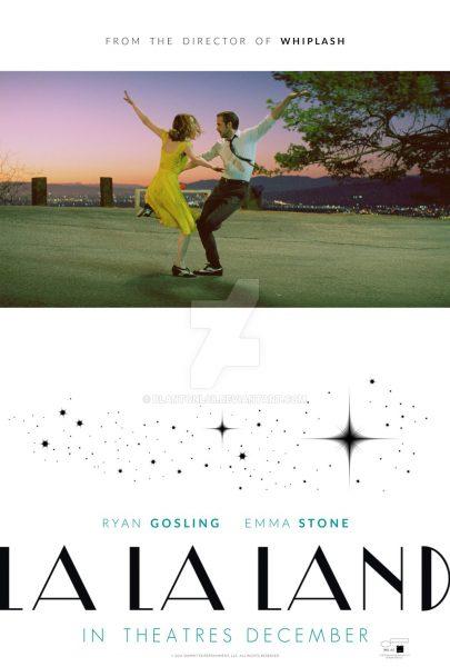 La La Land movie font