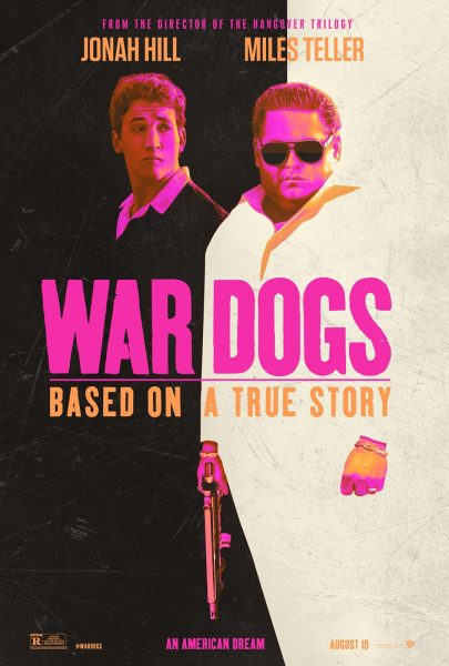 War Dogs movie font