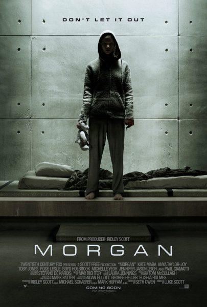 Morgan movie font