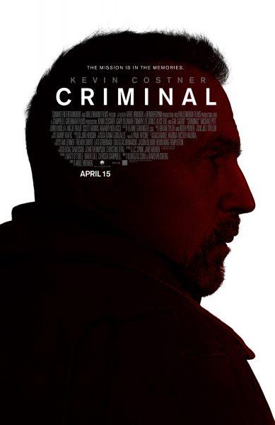 Criminal movie font