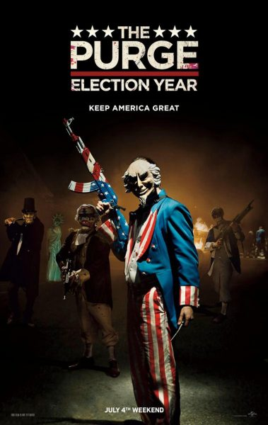 The Purge: Election Year movie font