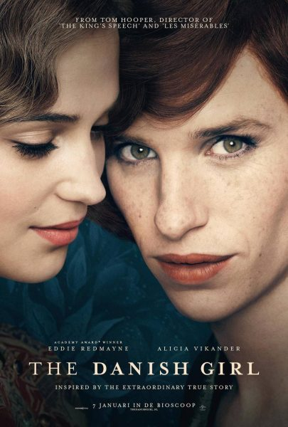 The Danish Girl movie font