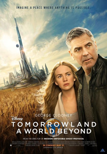 Tomorrowland movie font