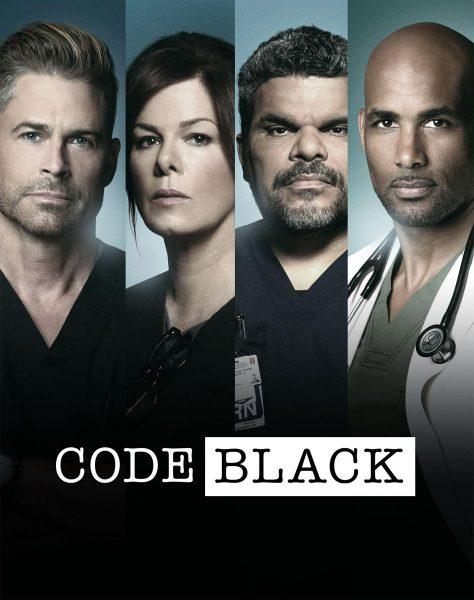 Code Black movie font