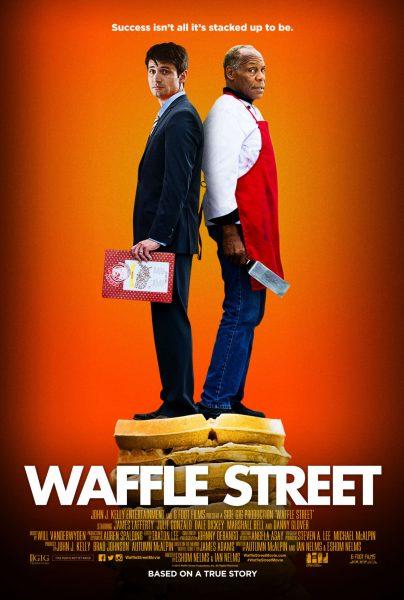 Waffle Street movie font