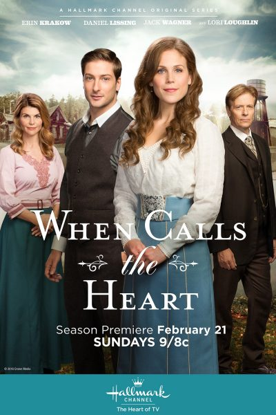 When Calls the Heart movie font