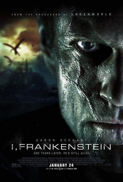 I, Frankenstein movie font