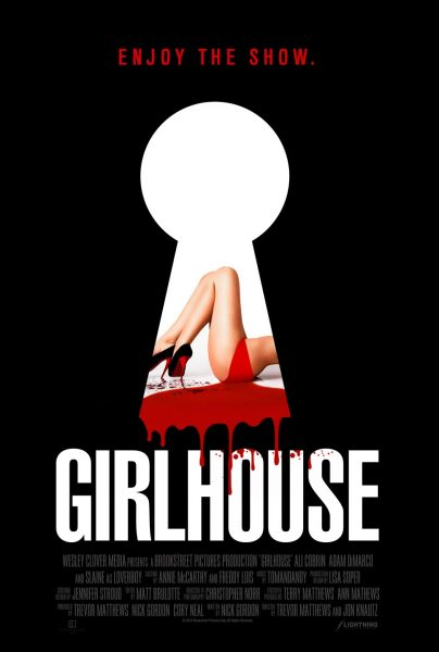 GirlHouse movie font