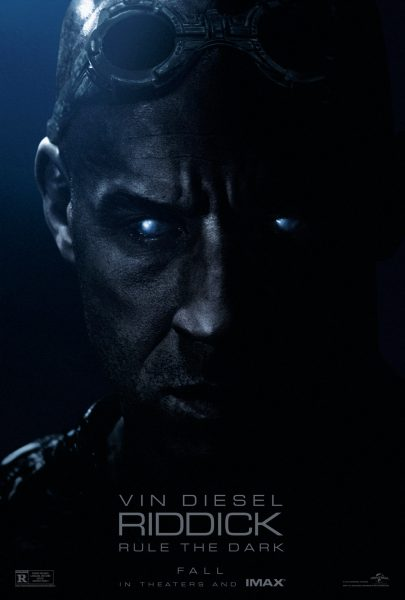 Riddick movie font